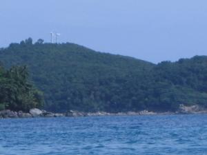 Perhentian Island - Wind Turbines
