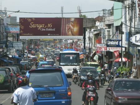 Jalan Sukajadi, Bandung, Indonesia