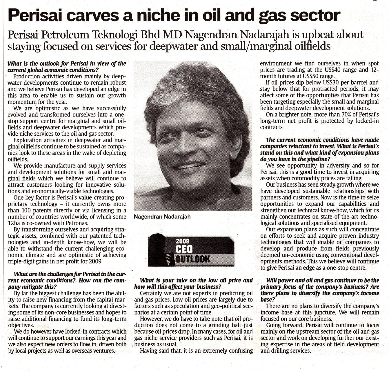 The Star - Perisai Petroleum Teknologi