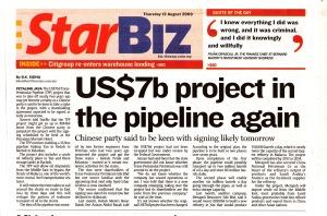 Malaysia - Transpeninsular Pipeline