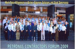 PETRONAS Contractors Forum Group Photo